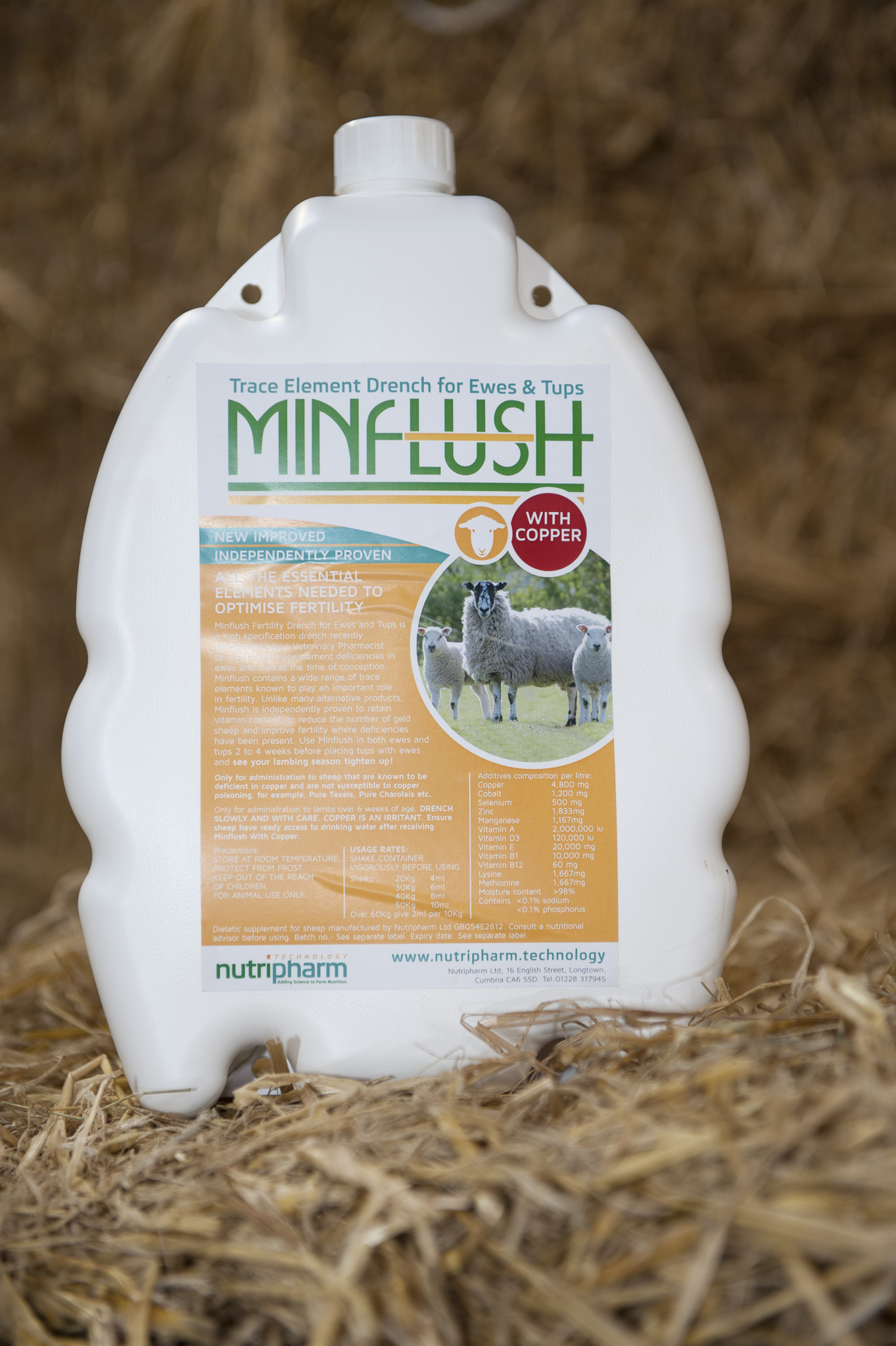 Minflush - With Copper
